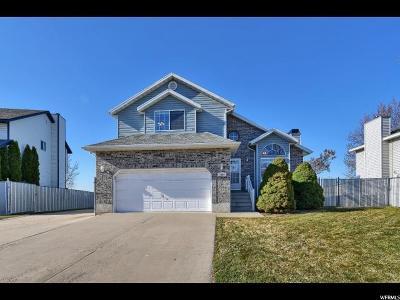 Layton Single Family Home For Sale: 1090 E 2125 N