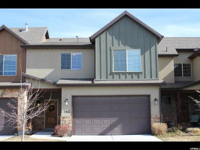 South Jordan Townhouse For Sale: 718 W Mystic Falls Way