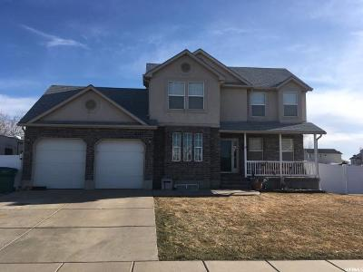 Roy Single Family Home Under Contract: 4217 W 5950 S