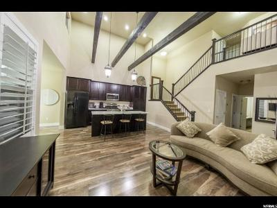 South Jordan Townhouse For Sale: 10524 S Topview Rd