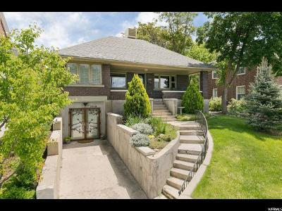 Salt Lake City Single Family Home For Sale: 1393 S 1300 St E