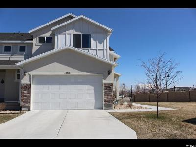 Herriman Townhouse For Sale: 12981 S Rokeby Ln