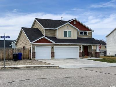 Brigham City Single Family Home Under Contract: 1061 N 665 W