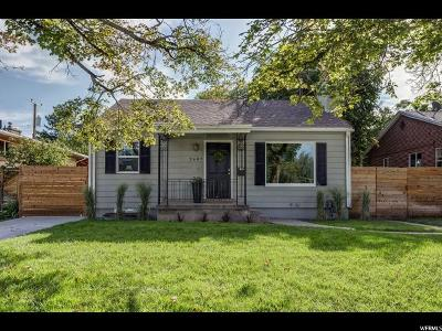 Salt Lake City Single Family Home For Sale: 2689 S 1700 E