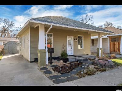 Salt Lake City Single Family Home For Sale: 1495 S Green St E