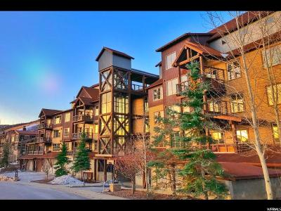 Park City Townhouse For Sale: 1825 Three Kings Dr #301