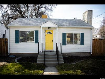 Salt Lake County Single Family Home For Sale: 3800 S 300 E