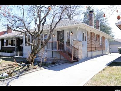 Salt Lake City Single Family Home For Sale: 652 E Bryan Ave