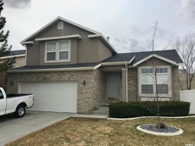 South Jordan Single Family Home For Sale: 4067 W Pine Grove Way