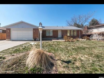 Sandy Single Family Home For Sale: 1592 E Waters Ln