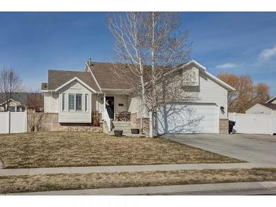 West Jordan UT Single Family Home For Sale: $389,900