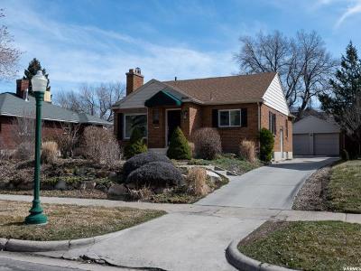 Salt Lake City Single Family Home For Sale: 2473 S Beverly St E
