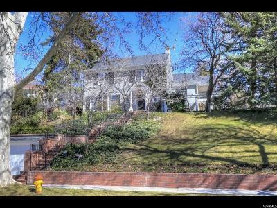 Salt Lake City Single Family Home For Sale: 1011 S 1200 E