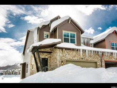 Wasatch County Townhouse For Sale: 13526 N Noah Ct