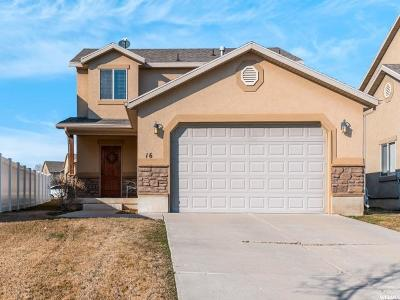 Layton Single Family Home For Sale: 16 W 1675 N