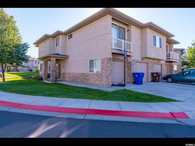 West Jordan Townhouse For Sale: 6613 W Ivy Gable Dr