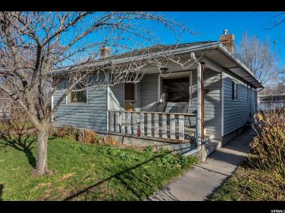 Salt Lake City Single Family Home For Sale: 619 E Garfield Ave S