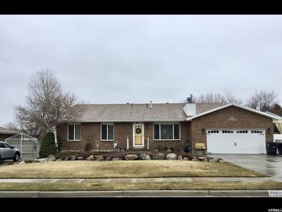 West Jordan UT Single Family Home For Sale: $449,000
