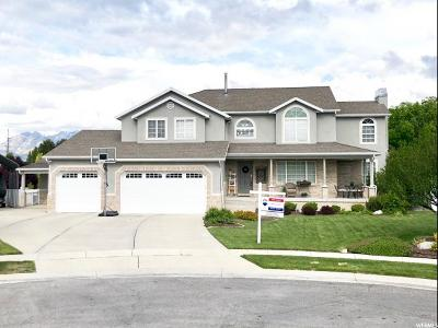 South Jordan Single Family Home For Sale: 1576 W Heather Downs Cir