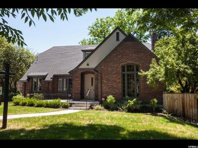 Salt Lake City Single Family Home For Sale: 1410 E Princeton S