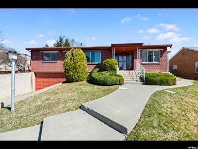 Salt Lake City Single Family Home For Sale: 1869 S 2500 E