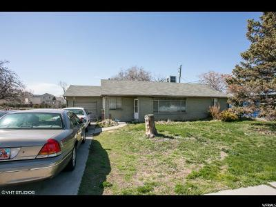 Salt Lake City Single Family Home For Sale: 1344 S Cheyenne St W