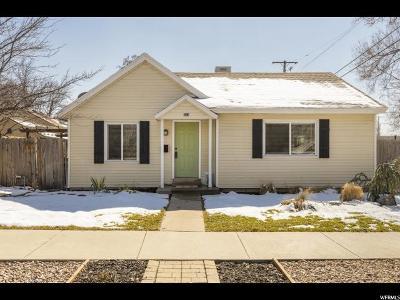 Salt Lake City Single Family Home For Sale: 524 E Wilson Ave S