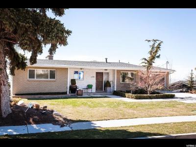 Salt Lake City Single Family Home For Sale: 2798 E Arcadia Heights Cir S