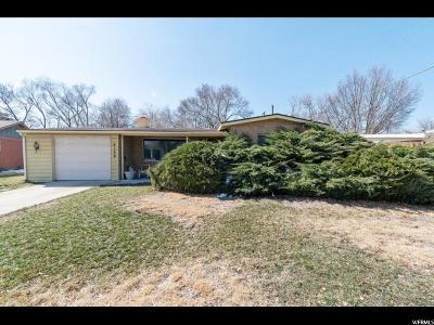 Salt Lake City Single Family Home For Sale: 4150 S 1220 E