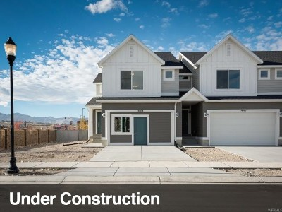 Herriman Townhouse For Sale: 14917 S Messi St #211