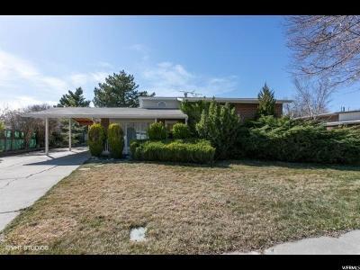 Salt Lake City Single Family Home For Sale: 1139 N Sonata St W