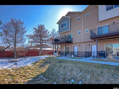 Salt Lake County Townhouse For Sale: 3889 S 1530 W