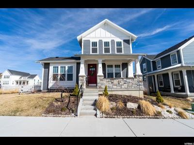 South Jordan Single Family Home For Sale: 4924 W Crosswater Rd S