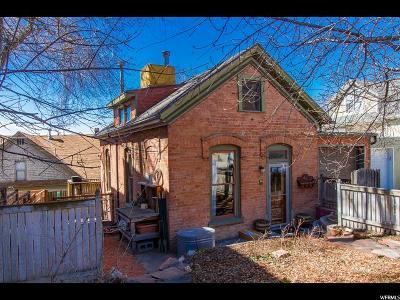 Salt Lake City Single Family Home For Sale: 309 N Almond St W