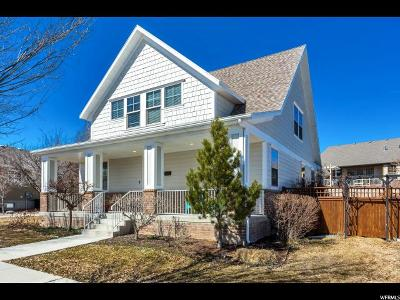 Salt Lake County Single Family Home For Sale: 4432 W New Spring Rd S
