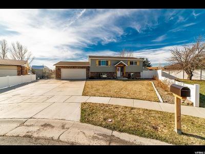 Salt Lake County Single Family Home For Sale: 5290 S Huntington Cir W