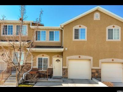 West Jordan Townhouse For Sale: 8846 S Humboldt Ct W
