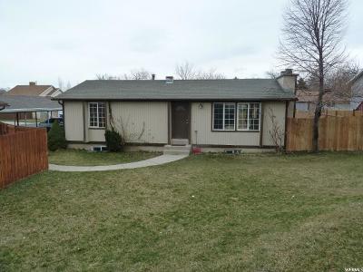 Salt Lake County Single Family Home For Sale: 2999 W Shadowpark Dr S #41