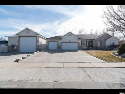West Jordan UT Single Family Home For Sale: $500,000
