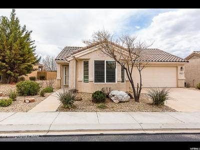 St. George Single Family Home For Sale: 1377 W Summer Poppy Dr