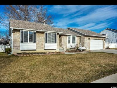 Orem Single Family Home For Sale: 1821 N 280 W