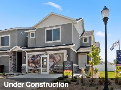 Salt Lake County Townhouse For Sale: 5133 W Duet Dr #2037