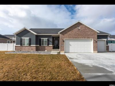 West Jordan UT Single Family Home For Sale: $469,900