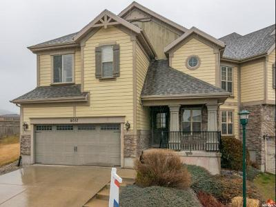 Utah County Townhouse For Sale: 4057 E Oakland Hills Dr