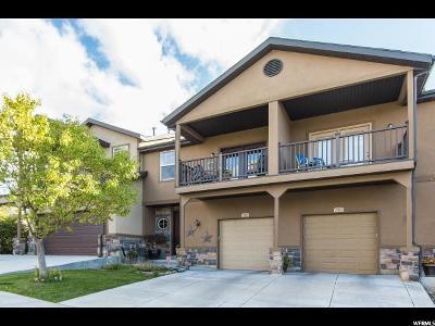 Salt Lake County Townhouse For Sale: 536 W Birch Park Dr