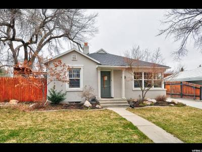 Salt Lake County Single Family Home For Sale: 1956 E Sylvan Ave S