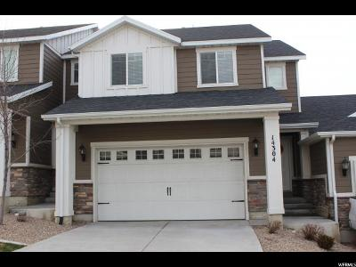 Salt Lake County Townhouse For Sale: 14304 S Draper Hill Dr E
