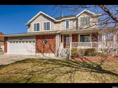 Salt Lake County Single Family Home For Sale: 980 N Sir Michael