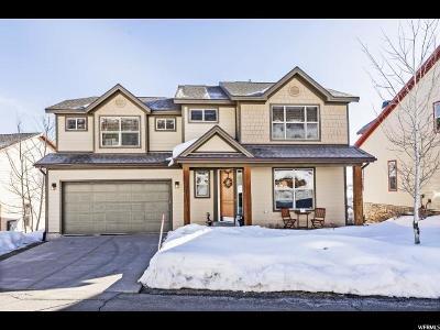 Park City Single Family Home For Sale: 5441 Luge Ln