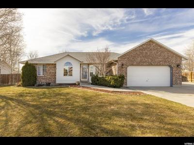 West Jordan Single Family Home For Sale: 3165 W 7720 S